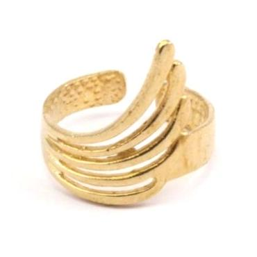 RawBrass Angel Ring / No,1
