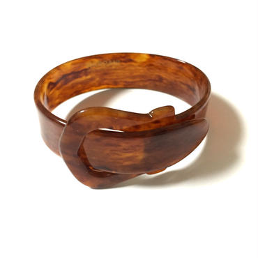 Buckel Bangle : TORTOISE