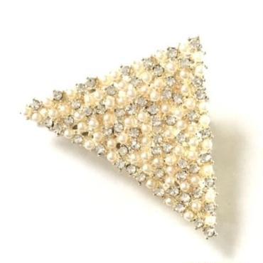Pearl&Bijou Triangle Claw