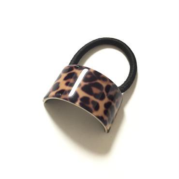 Pony tail M size / Leopard