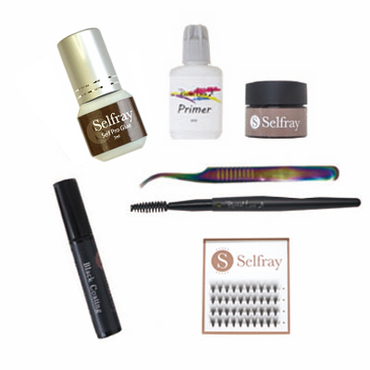 Selfray Full Self Eyelash Extension Set