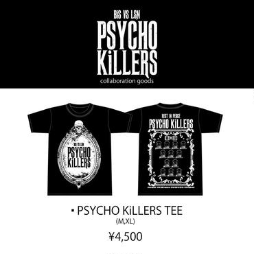 BiS VS LSN「PSYCHO KiLLERS」Tシャツ