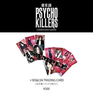 BiS VS LSN「PSYCHO KiLLERS」トレーディングカード