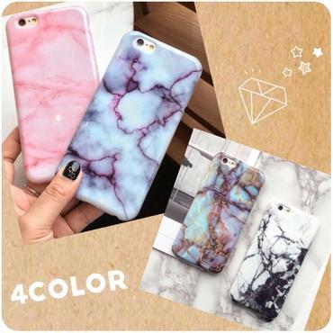 大理石風 iPhoneケース 4color