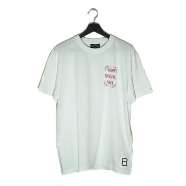 【RAD RATS】GOD.M.NIGHT s/s tee  (color)WHITE