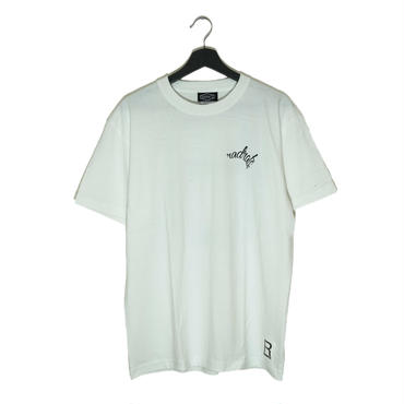 【RAD RATS】R LOGO s/s tee  (color)WHITE/BLACK