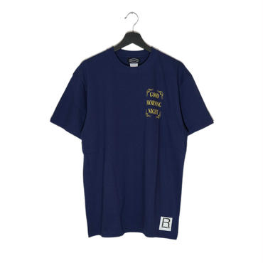 【RAD RATS】GOD.M.NIGHT s/s tee  (color)NAVY