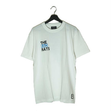 【RAD RATS】THE RAD RATS s/s tee  (color) WHITE