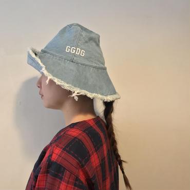 GGDGチューリップHAT/BleachDenim
