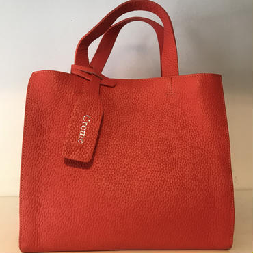 3pocket牛革bag/largeRED