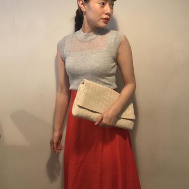 フレアLONGスカート/RED