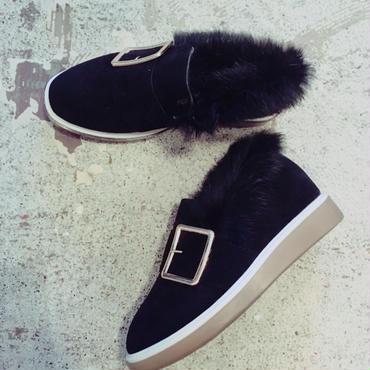 ベルトファーshoes/black39
