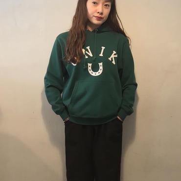 ONIKパーカースウェット/green