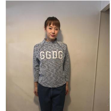 RaglanパイルtaperedTOPS/GGDGnavy