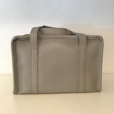 牛革BOXショルダーbag/Grey