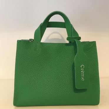 3pocket牛革  bag/smallGREEN