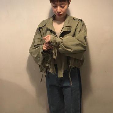 militaryショートジャケット/khaki
