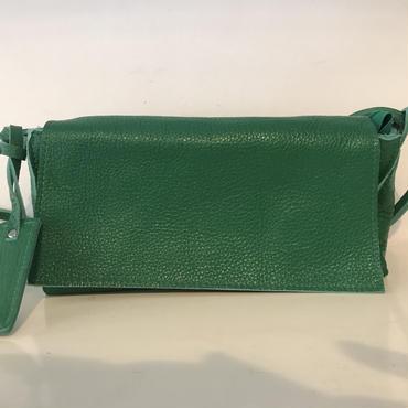 牛革soft letherショルダー/GREEN