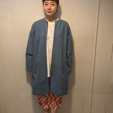 ノ―カラーdenimジャケット