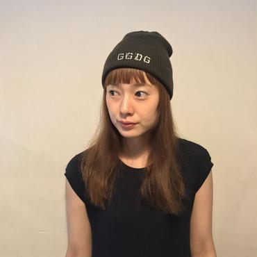 GGDGcottonニット帽/OLIVE