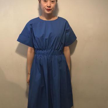 フレアmidiワンピース/BLUE
