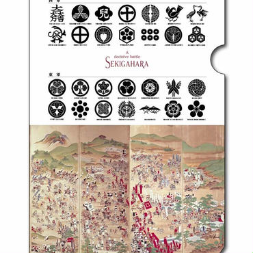 関ヶ原合戦図屏風         A4クリアファイル