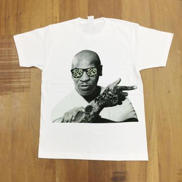 RARETE (ラルテ)  入手困難  マイクタイソン タトゥー Tシャツ ホワイト  星柄 star
