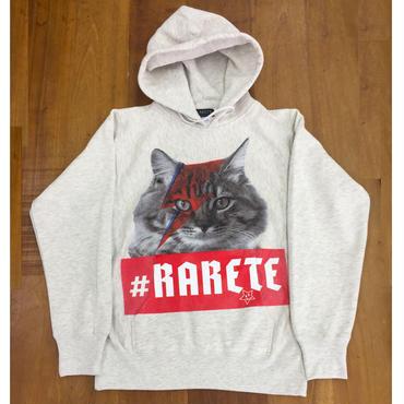RARETE (ラルテ) 猫 イナズマ デビットボウイ  オートミール  星柄