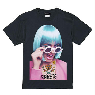 RARETE (ラルテ)   ウインク サングラス GIRL  Tシャツ ブラック