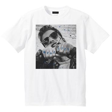 RARETE (ラルテ)   Tatoo  tobacco Men Tシャツ ホワイト