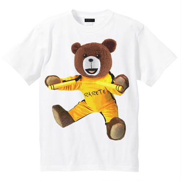 RARETE (ラルテ)    テディベア Bruce Lee  Tシャツ ホワイト