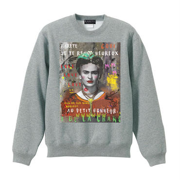 RARETE (ラルテ) Frida Kahlo  スエット グレイ 星柄 star