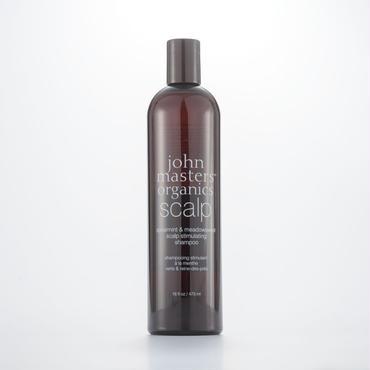 john masters organics ジョンマスターオーガニック S&Mスキャルプシャンプー スリムビック 473ml 洗い上がりすっきり爽快! ノーマル~オイリー頭皮用