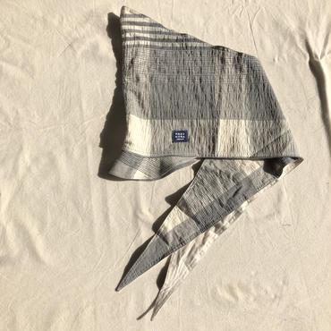 ZUKIN CAP new!コットンチェック& ストレッチデニム