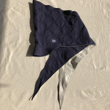 ZUKIN CAP new!フラワー、コットンドット、シャンブレー