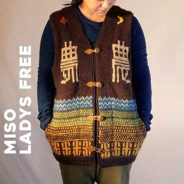 農Knit Best 手編み MISO  /Ladys FREE