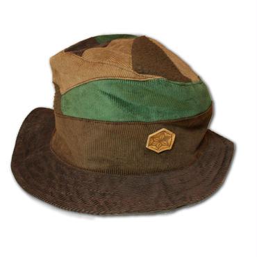 Pachwork corduroy hat
