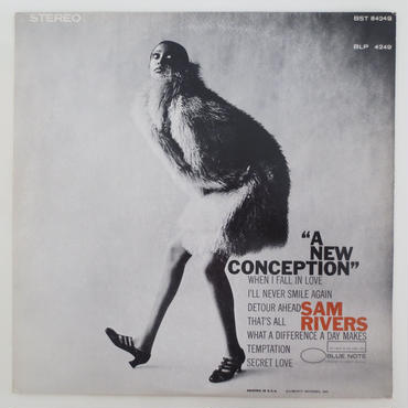 Sam Rivers ‎– A New Conception(Blue Note ‎– BST 84249)stereo