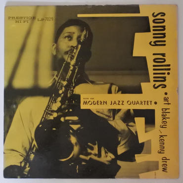 Sonny Rollins – Sonny Rollins(Prestige-7029)mono