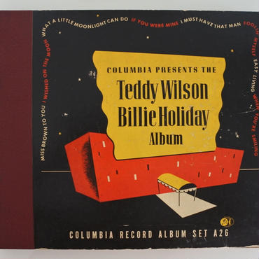 Billie Holiday ‎– Columbia Presents The Teddy Wilson Billie Holiday Album (Columbia Set A26 )mono
