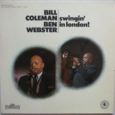 Bill Coleman / Ben Webster ‎– Swingin' In London(独 Black Lion  ‎– 28 441-4 U)stereo