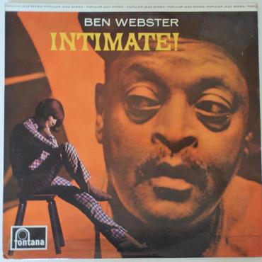 Ben Webster – Intimate!(Fontana – 683 276 JCL)mono
