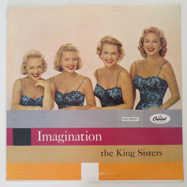 The King Sisters ‎– Imagination(Capitol Records ‎– T919)mono