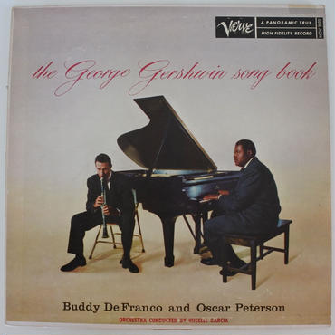 Buddy De Franco And Oscar Peterson – The George Gershwin Song Book( Verve Records – MGV 2022)mono