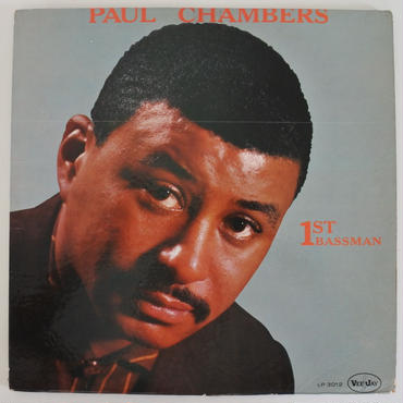 Paul Chambers ‎– 1st Bassman(Vee Jay Records ‎– LP 3012)mono