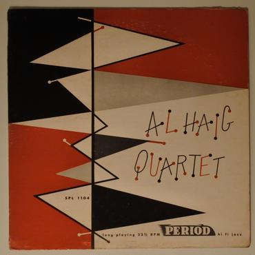 Al Haig Quartet – Al Haig Quartet(Period Records – SPL 1104)mono