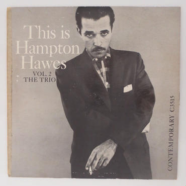 Hampton Hawes / The Trio Vol.2 (Contemporary C3515) mono