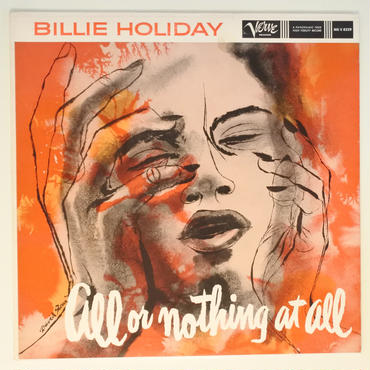Billie Holiday ‎– All Or Nothing At All (Verve Records ‎– MG V-8329) mono
