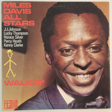 Miles Davis All Stars ‎– Walkin'(Transatlantic Records ‎– PR 7076)mono