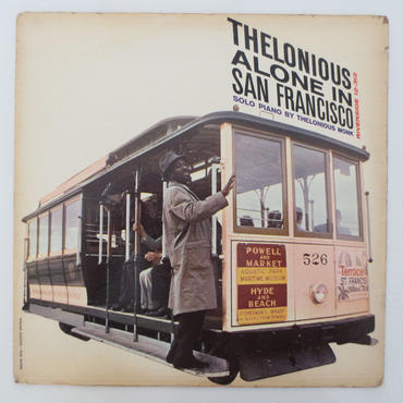 Thelonious Monk ‎– Thelonious Alone In San Francisco(Riverside Records ‎– RLP 12-312)mono